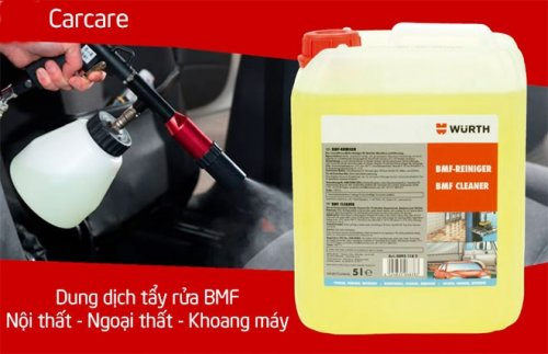 Dung Dịch Tẩy Rửa Đa Năng BMF Wurth Đức 5 Lít 08931182