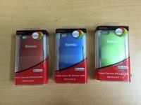 Sạc dự phòng không dây 1800mAh kiêm ốp lưng Iphone 4/4S màu đỏ sành điệu