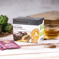 Thưởng thức trà atiso L'angfarm mỗi ngày giúp bạn giảm cân, 20 tép, (hộp)