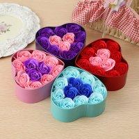 Hoa hồng sáp trái tim - Món quà độc đáo dành tặng cho người ấy - MSN383102