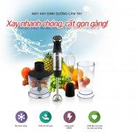Máy xay sinh tố cầm tay ArirangLife - Xay sinh tố, đánh trứng, xay khô, xay rau củ, thịt cháo - MSN383162