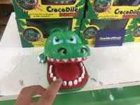 Trò chơi Khám Răng Cá Sấu độc lạ.