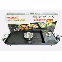 Bếp Nướng Điện 3 ngăn Công Nghệ Nhật Bản Holtashi HT-M2865 3 in 1