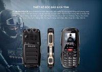 Điện Thoại S Mobile Police Mạnh Mẽ 2 Sim, Pin Chờ 30 ngày - MSN181150