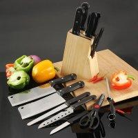 Bộ Dao Kéo Làm Bếp 8 Món giúp việc nội trợ được đơn giản hóa nhanh chóng - MSN383193