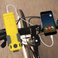 Loa Bluetooth PURIDEA I2 2 in 1 Vừa Là Pin Dự Phòng 10.000 mAh - Loa Nghe Nhạc - Có Đèn Pin - Có Thể Gắn Trên Xe Đạp - MSN181168