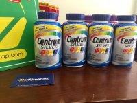 Đáp ứng nhu cầu dinh dưỡng cho nam giới trên 50 tuổi Viên uống Centrum Silver Ultra Men's 50+, Hàng Nhập MỸ - MSN181187