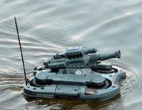 Xe tăng điều khiển từ xa có khả năng vận hành được trên cạn và lội nước, có băng đạn RC AMPHIBIOUS TANK - MSN388150