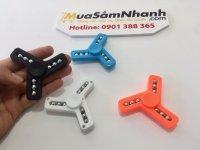 Con Quay Spinner 3 cánh nhựa 9 bi cực đẹp, quay lâu ,Fidget Spinner, Hand Spinner - MSN388152