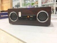 Loa Nghe Nhạc Aibo PN-08, Loa gỗ chắc chắn, nhỏ gọn âm thanh cực hay - MSN181199