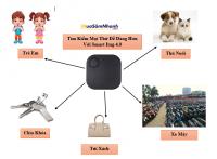 Thiết bị định vị, tìm kiếm đồ vật thông minh Smart iTag Bluetooth 4.0 - MSN388162
