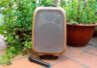 Siêu Phẩm Loa Kéo Bluetooth Soundmax M6, Âm Thanh Chuẩn, Công Suất 80W + Tặng Kèm Mic Không Dây - MSN181205