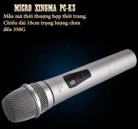 Micro không dây cao cấp Xingma PC-K3, Chất lượng tuyệt hảo hát karaoke cực hay - MSN181207