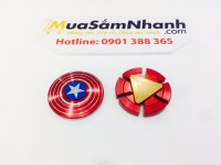 Combo Con quay Spinner Captain America Và Spinner Iron Man
