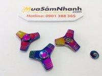Con quay Spinner 3 Cánh Compass Rainbow Kim Loại Cực Đẹp ,Fidget Spinner, Hand Spinner - MSN388192