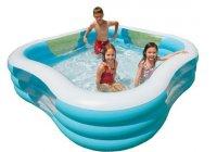 Bể bơi phao vuông INTEX