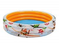 Bể bơi phao intex máy bay 3 tầng 1m68