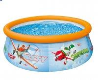 Bể bơi cổ phao in hình Thế giới máy bay intex