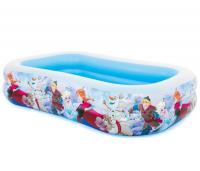 Bể bơi phao chữ nhật nữ hoàng băng giá Frozen INTEX