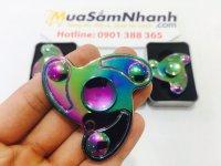 Con quay Spinner 3 Cánh Thần Tài Rainbow, Fidget Spinner, Hand Spinner - MSN388195