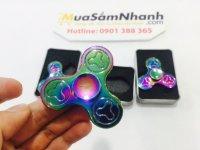 Con quay Spinner 3 Cánh Bông Rainbow, Fidget Spinner, Hand Spinner - MSN388196