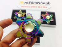 Con quay Spinner 6 Cánh Sao Biển Rainbow, Fidget Spinner, Hand Spinner - MSN388197
