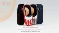 Điện Thoại S-Mobile 310 kiểu dáng Nokia 3310 2 SIM 2 sóng - MSN181215