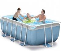 Bể bơi khung kim loại chịu lực 3m có máy lọc nước INTEX