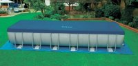 Bể bơi lắp ghép di động khung kim loại chịu lực loại lớn mang lại cảm giác sảng khoái