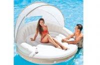Phao bơi giường nằm có mái che INTEX