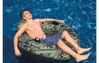 Phao bơi Camo màu rằn ri INTEX có ghế tựa thoải mái