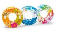 Phao bơi tròn hoa văn INTEX 97cm