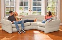 Ghế hơi Sofa góc mẫu mới INTEX