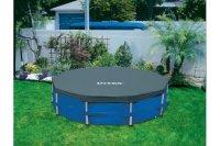Tấm phủ bể bơi khung kim loại 3m66 INTEX