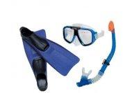 Bộ kính bơi, chân vịt và ông thở INTEX