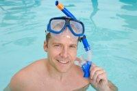Kính bơi ống thở người lớn intex