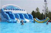 Cầu trượt nước Sóng Thần Wave Water Slide WWS