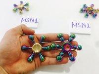 Con quay Spinner 6 Cánh Kim Loại Cầu Vồng - MSN388214