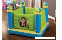 Nhà banh nhún lâu đài xanh cho bé INTEX
