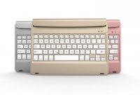 Bàn Phím Bluetooth 3.0 Cho iPad Air/Air 2 Note Kee F17, Pin Sạc Siêu mỏng - MSN181249
