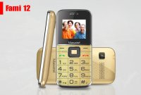 Điện thoại Cho Người Già Masstel Fami 12 Chính Hãng Có Đài FM, 2 Sim - MSN181251