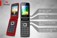 Điện thoại Nắp Gập Masstel F10 Sang Trọng 2 Sim Hỗ trợ Thẻ Nhớ - MSN181252