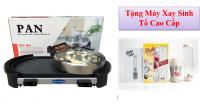 Bếp Lẩu Nướng Đa Năng 02 mâm nhiệt PAN Công Nghệ Cao + Tặng Máy Xay Sinh Tố Cao Cấp - MSN383072