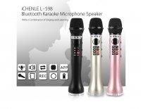 Micro Bluetooth Karaoke cao cấp Mic L-598, Có Hỗ Trợ Ghi Âm Giọng Hát - MSN388241
