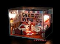 Mô hình nhà gỗ mini có đèn Led cực đáng yêu - MSN1831012