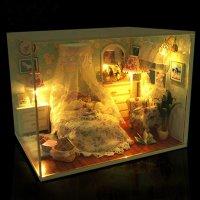 Mô hình nhà gỗ DIY đáng yêu, Căn phòng Công chúa  - MSN1831014