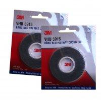Băng keo (2 mặt) siêu dính 3M VHB 5915 giúp ghép nối các vật dụng dễ dàng 12mmx5m - MSN388256