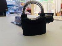 Ổ Khóa chống trộm thông minh Alarm Lock 110dba, Càng Ngắn Kèm Pin - MSN383145