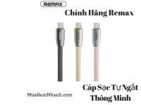 Cáp sạc nhanh Tự Ngắt Thông Minh Remax Knight RC-043i Cho IPhone, IPad - MSN181289