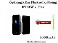 Ốp Lưng Kiêm Pin Sạc Dự Phòng IPHONE 7 Plus JLW-7PA-2 8000mAh